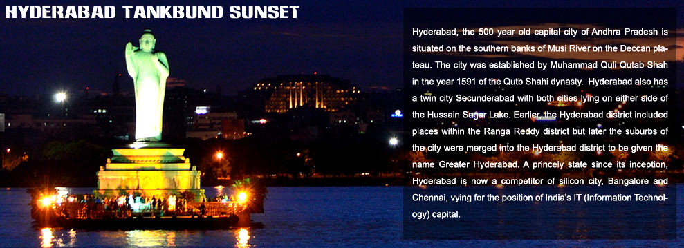 Hyderabad Tankbund Sunset